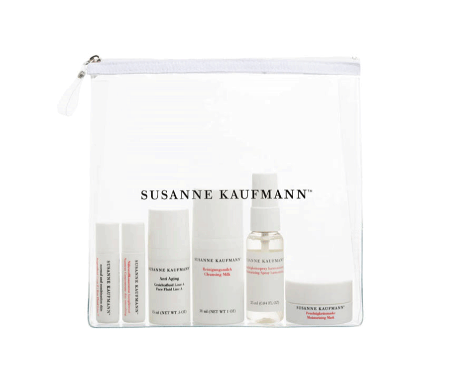 Travel kit face by  Susanne Kaufmann,  available at Wallpaper Store