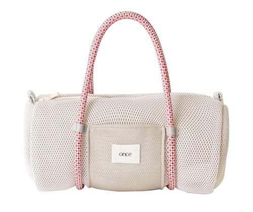 Duffel bag by  Once , available at Maisonette