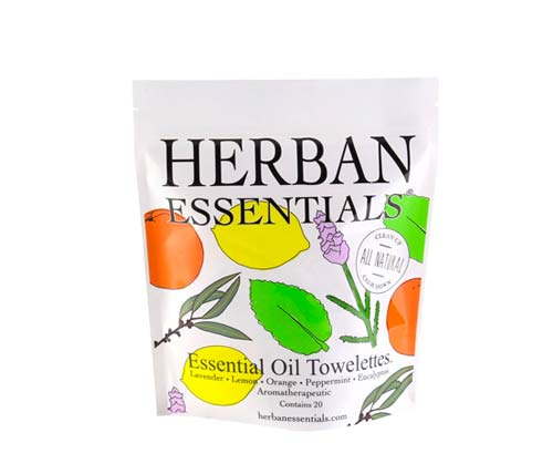 Towelettes by  Herban Essentials