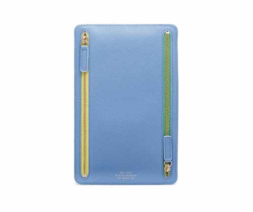 Travel wallet by  Smythson