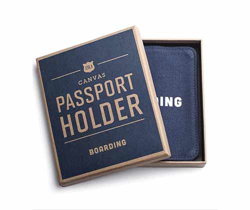 Passport holder by  Men's Society