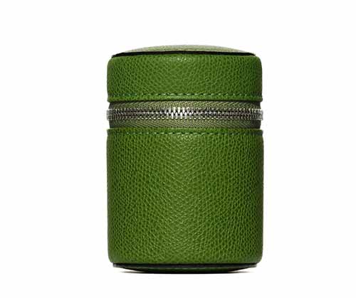 Travel perfume leather case by  Frederic Malle