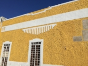 Izamal, Yucatan, one of Mexico's Pueblos Mágicos.