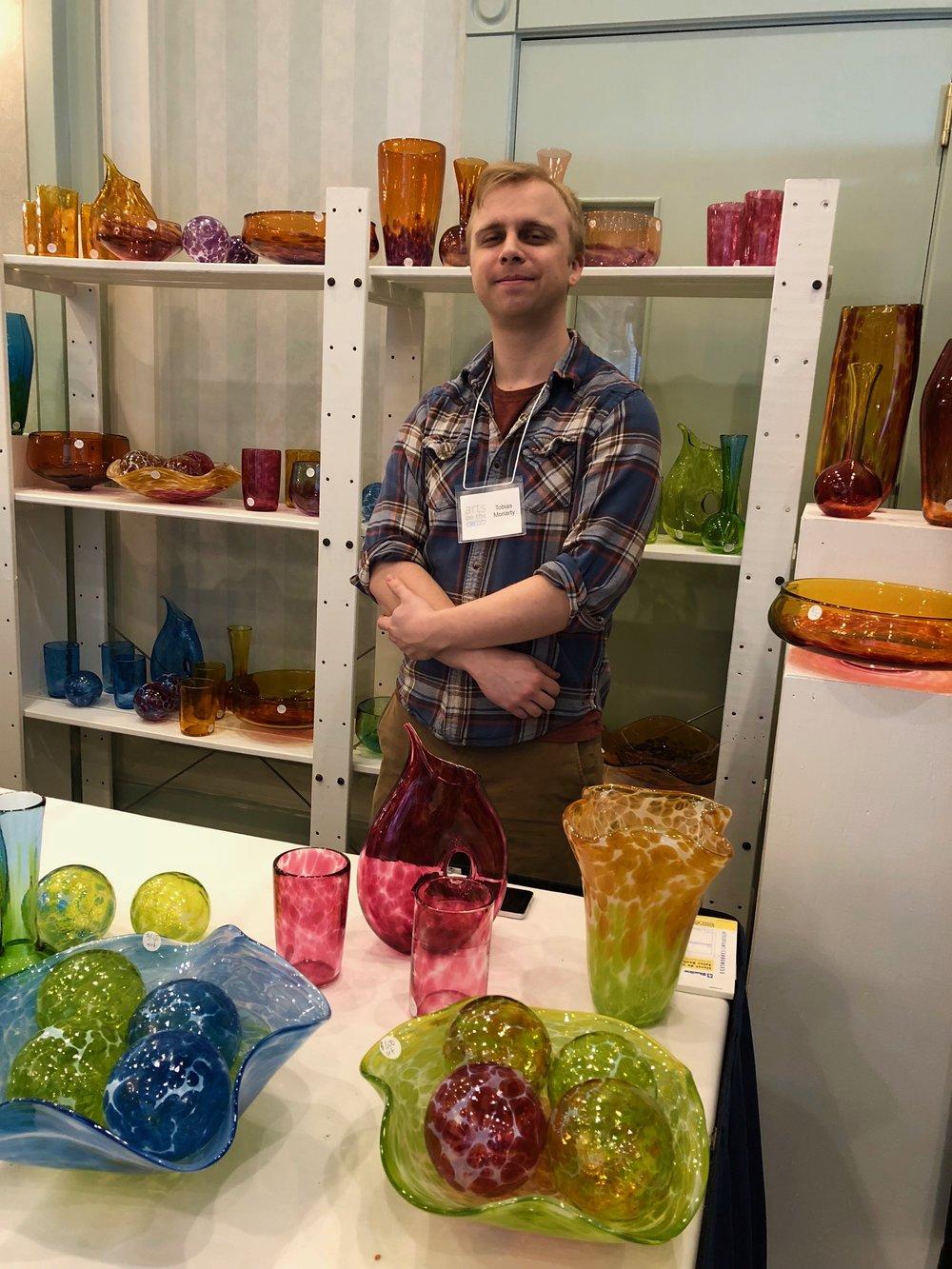 Glass Artist - Tobias Moriarty