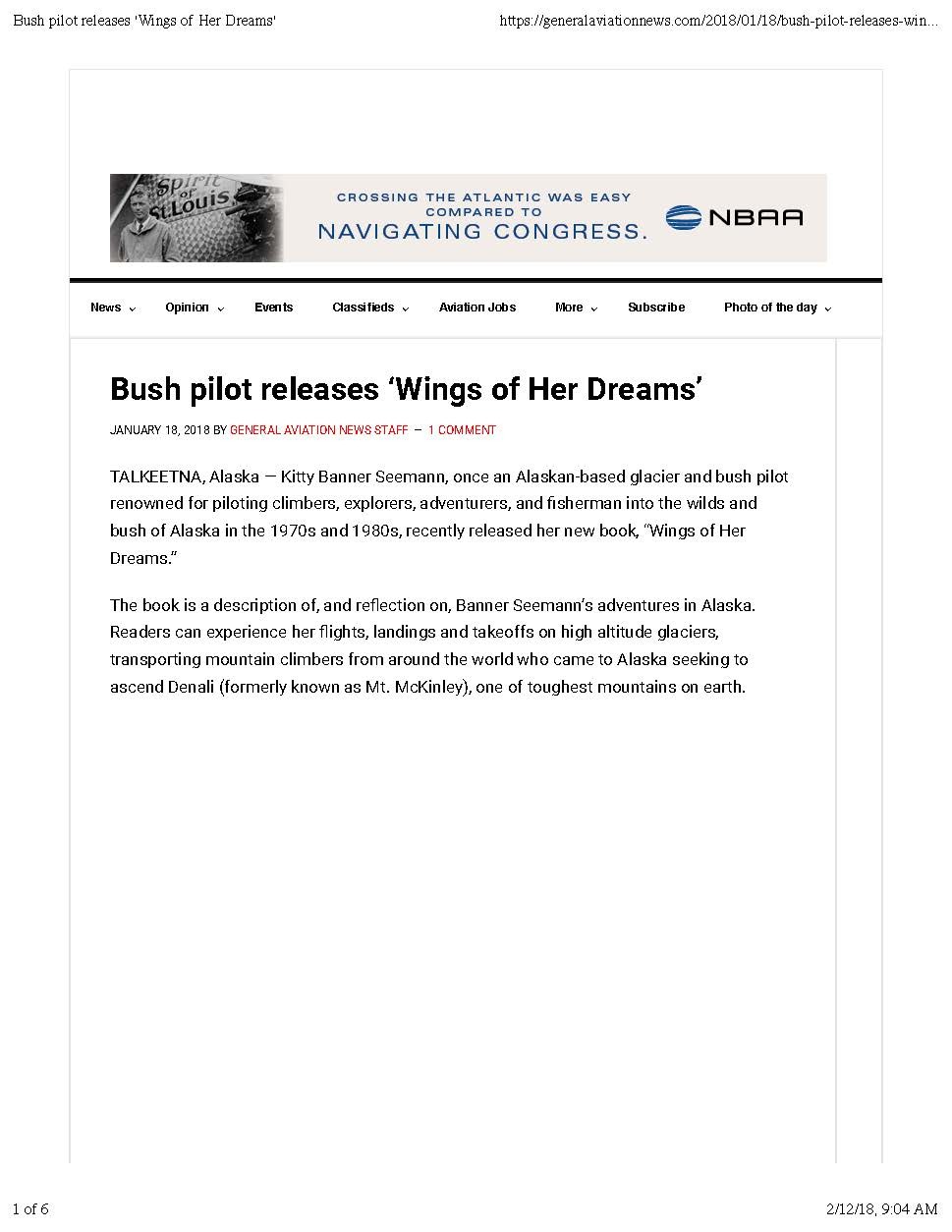 General Aviation News Bush pilot releases 'Wings of Her Dreams' 1.18.18_Page_1.jpg