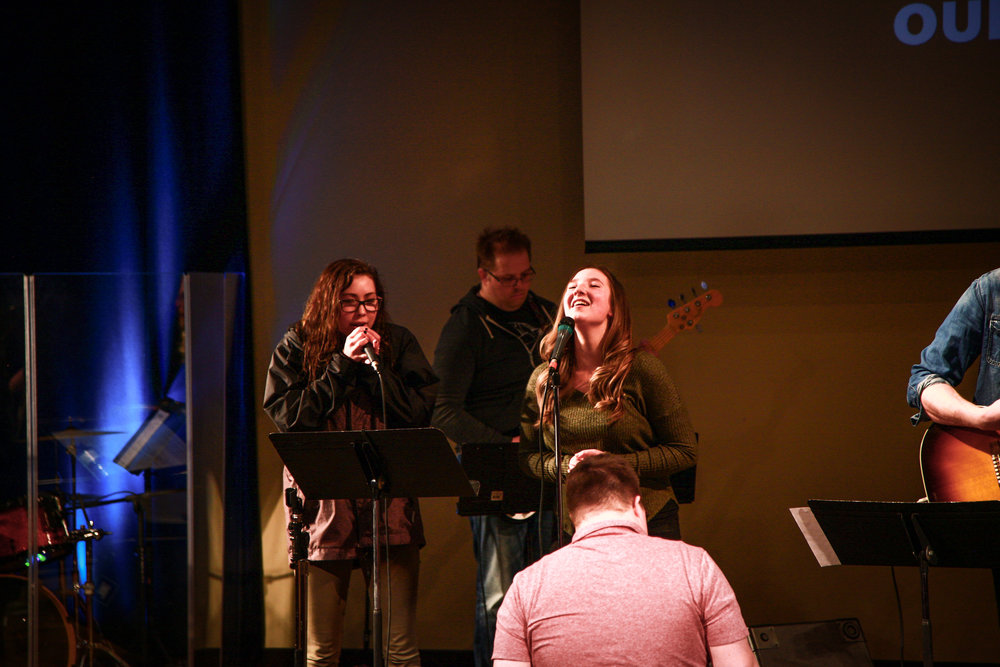 Worship   Are you gifted musically? As we build our team, we are looking for musicians of all instruments (primarily guitar, bass, piano, and drums) and singers. Even more important than your musical skill is a heart of worship. Our worship teams serve on a rotation to lead us in worship each Sunday.