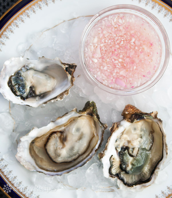 What's the correct way to eat an oyster?  -