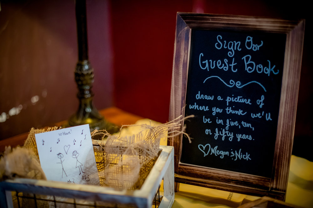 Guest Book Sign - CenterStage Events