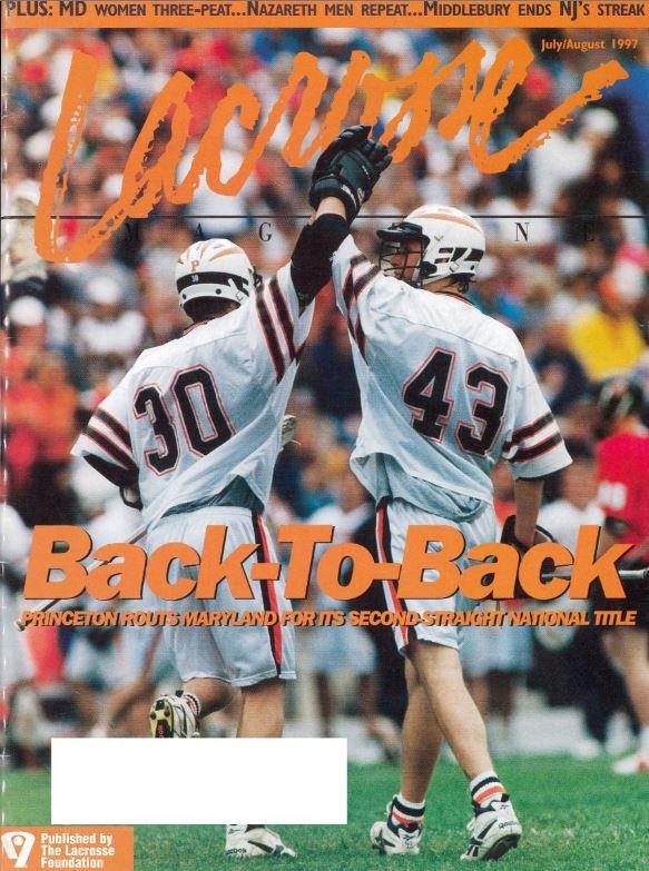 Back 2 Back - Princeton Lax Mag cover.JPG