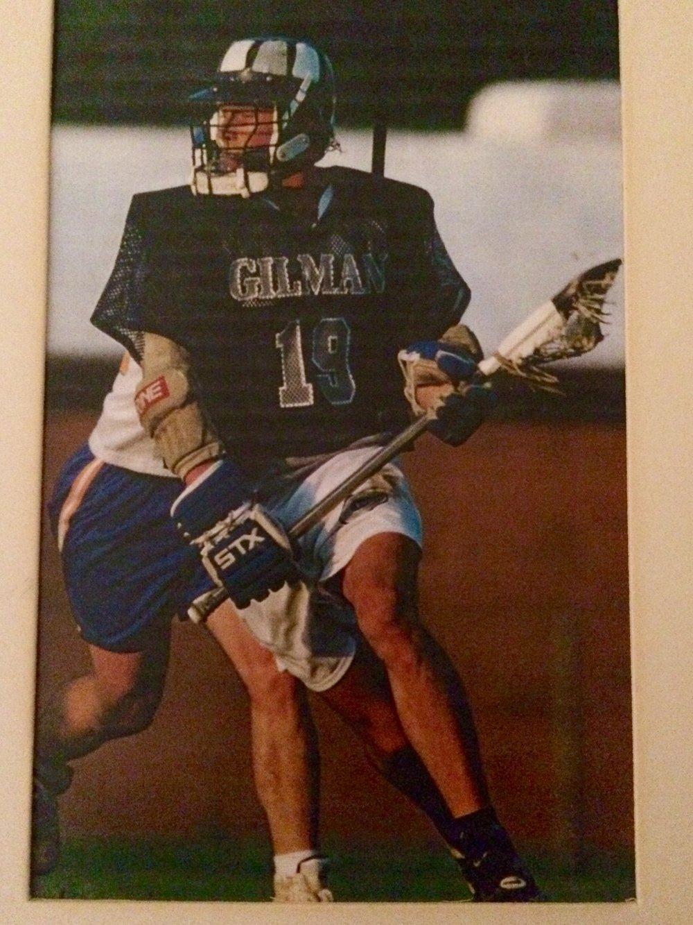Lorne Gilman lacrosse 1995.jpg