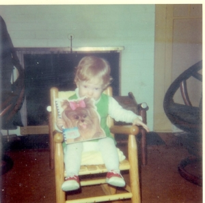 Book consumer at an early age.