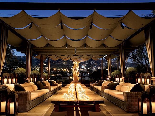 We will meet on the beautiful Restoration Hardware Rooftop in West Hollywood.