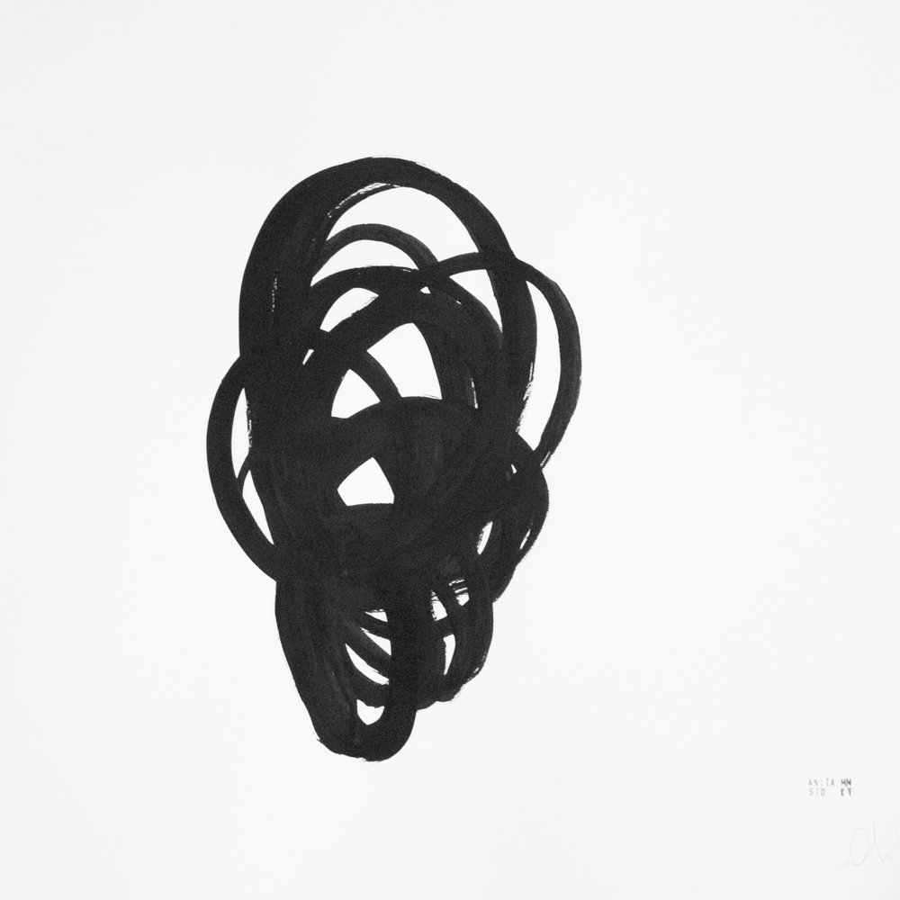 WEAVES, 2010 Gesso on Arches Paper Variable Dimensions