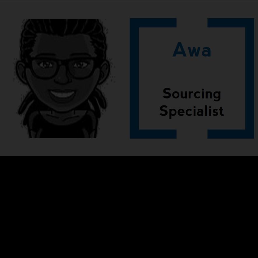 Experte du recrutement de Consultants, la mission d'Awa couvre un spectre de profils aussi large que ses passions : les civilisations anciennes, la musique, les films, les restaurants en bord de mer, les soirées festives, la détente ou encore… LA NOURRITURE !