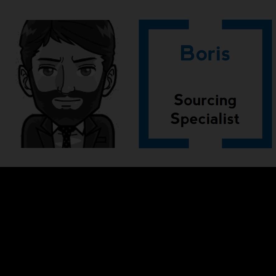 Petit dernier arrivé dans l'équipe, Boris est un grand voyageur, dans la vie comme sur le net. C'est sur les routes du monde que l'on retrouve les différents talents qui feront l'avenir de nos entreprises.