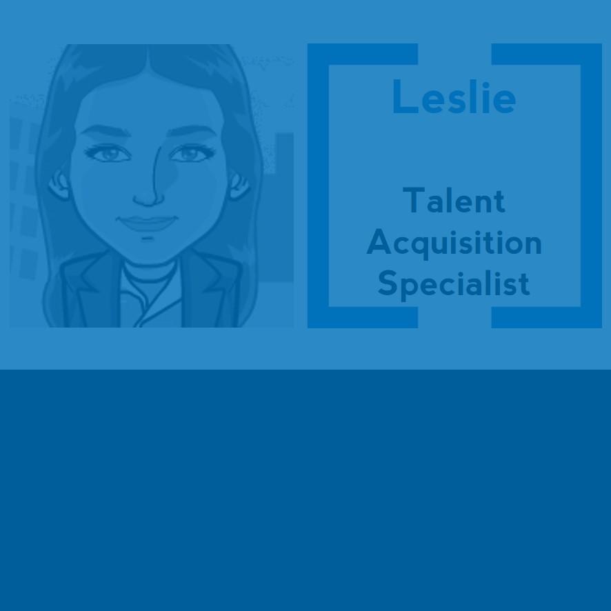 Experte du prêt-à-recruter personnalisé, Leslie ne recule devant rien pour vous proposer des candidats sur mesure.  Vous cherchez un modèle en particulier ? Faites votre shopping candidats avec une adepte de la chasse !
