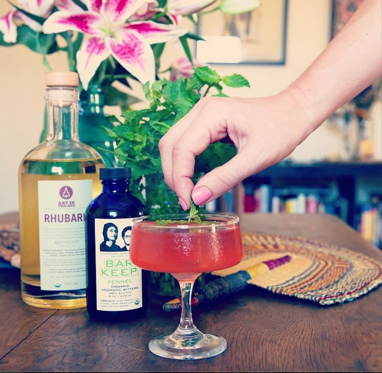 rhubarbcocktail