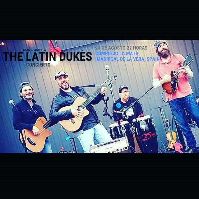 The second gig of The Latin Dukes in their Spain Tour! #thelatindukes #thelatindukesfever #thelatindukesspaintour #chilloutlamata