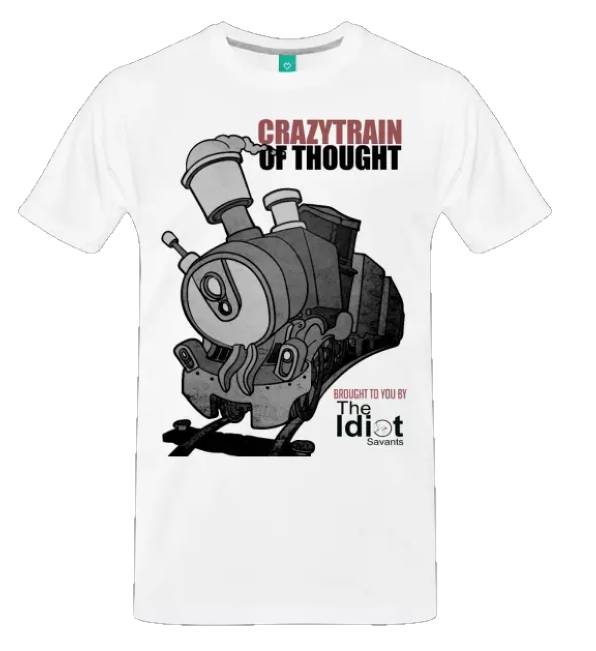 Crazy Train of Thought Network Men's T-Shirt