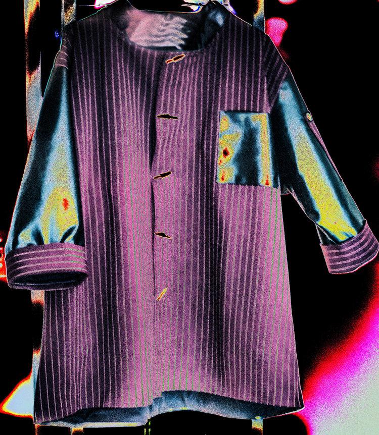 Chauncy Adams - one off chefs jacket design