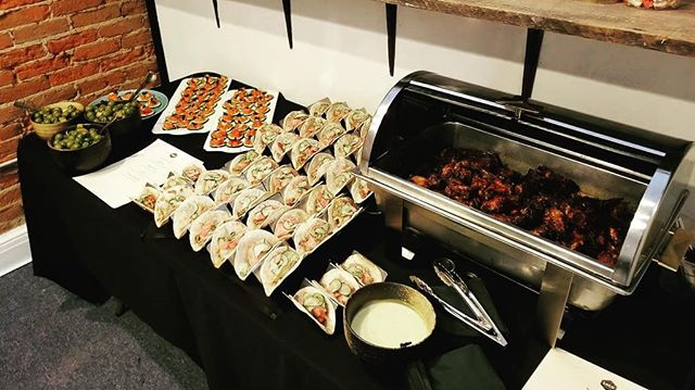 Did you know we cater? Today our snacks are at our new neighbors @joriandjune for their  open house. Stop by and check their new shop out. #discoverstillwater
