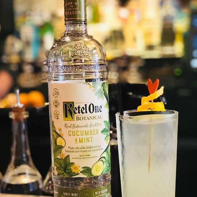 We're testing out some of @mixin_with_madsmn and @diageo 's new Ketel One products right now. If you can catch her this weekend at the bar, she may be inclined to let you try!