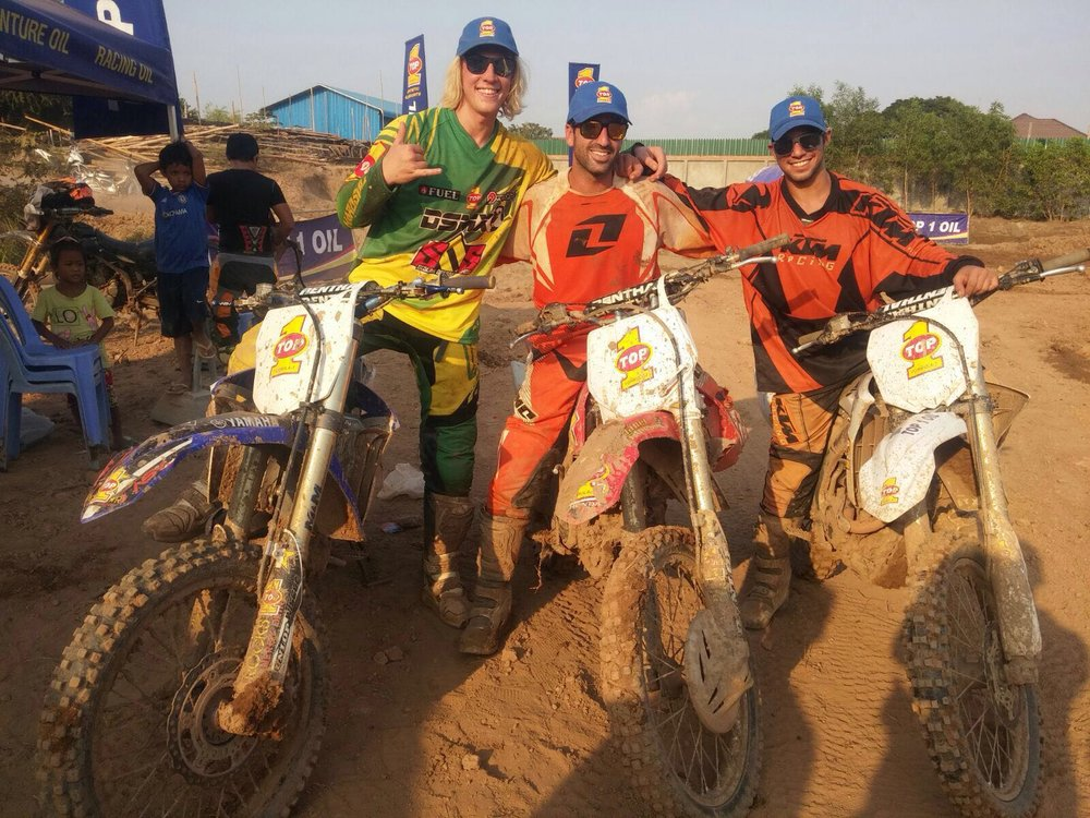 Team building through Motocross training