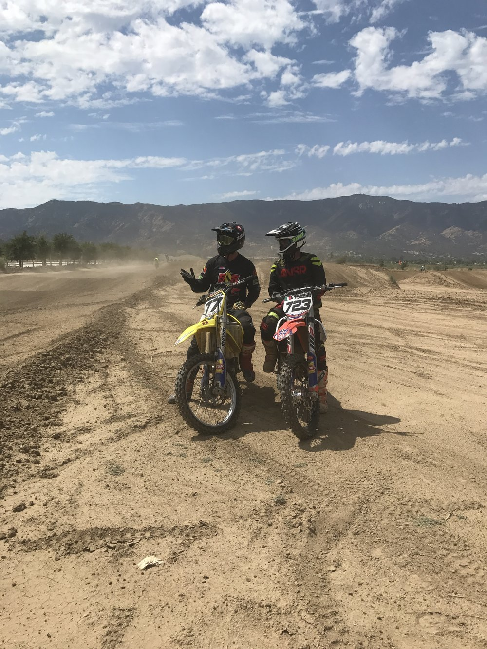 One on One Motocross training sessions availabe to get the most out of your day at the track