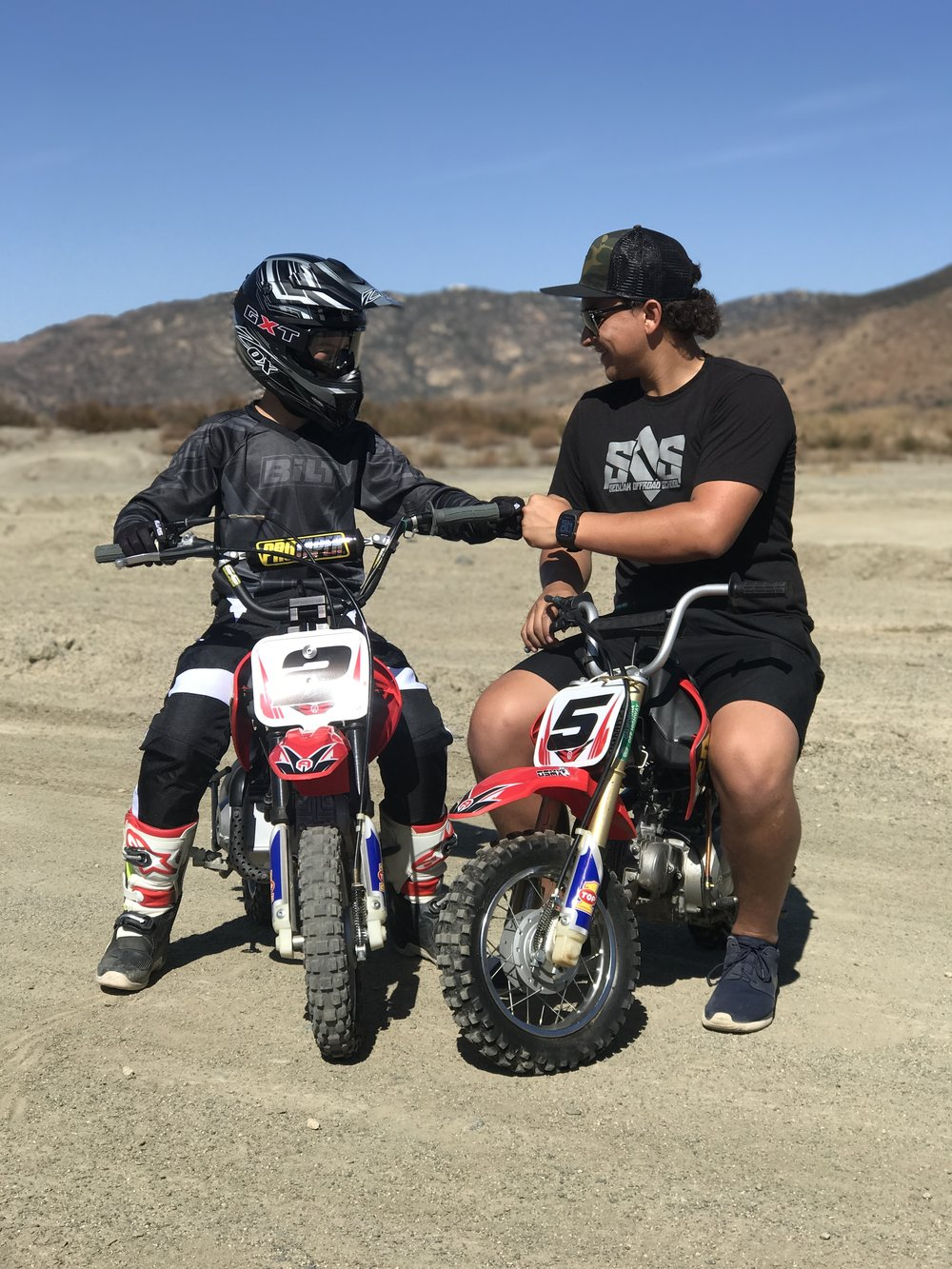 Learn to ride and control a dirt bike through our step by step introduction
