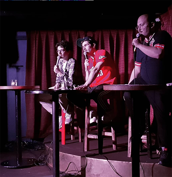 Cumtown Tour at Heya Bar, Brisbane in 2018.