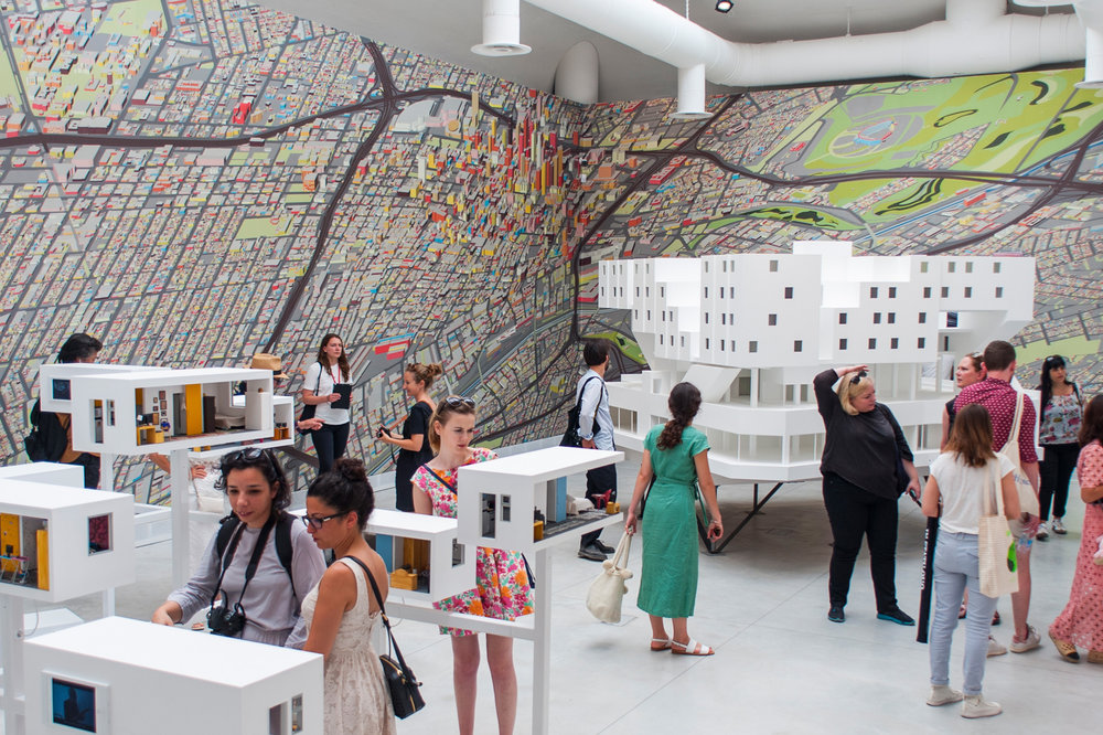 """Venice Architecture Biennale 2018  Director / Producer  Michael Maltzan Architecture's """"Star Apartments"""" installation is now on view in the 16th International Architecture Exhibition,  La Biennale di Venezia . The installation is on view in the Central Pavilion in the Giardini della Biennale in Venice, Italy. The 16th International Architecture Exhibition will be open to the public through November 25, 2018."""