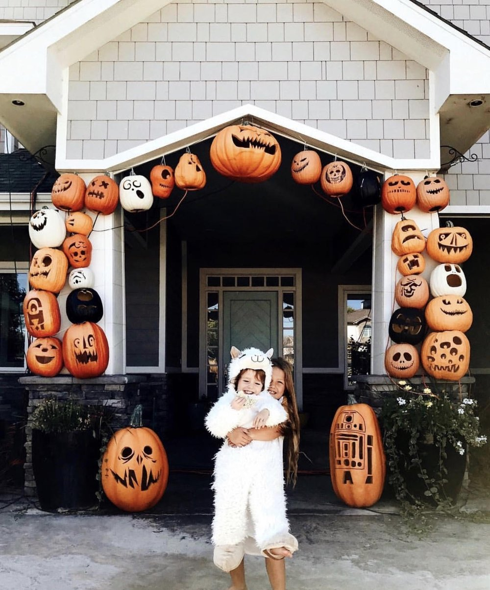 Pumpkin carving and display goals  via Jessie Pennington