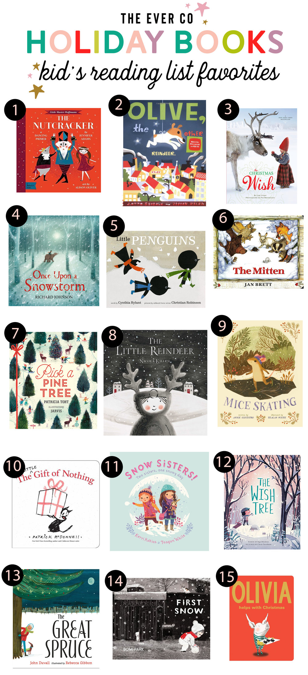 the ever co christmas holiday book roundup
