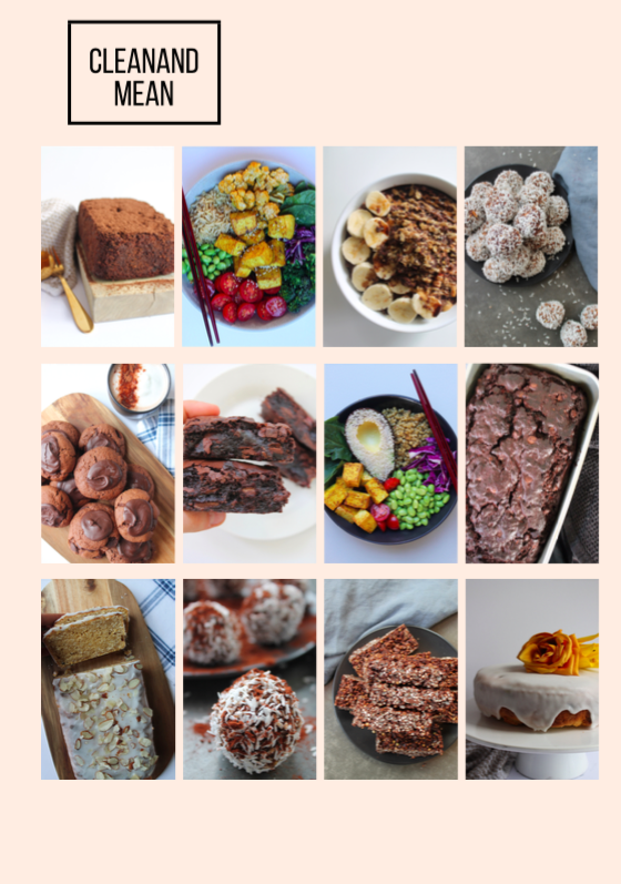 YOU WILL FIND... - ✓ Nutritional content & macronutrients about meal times and various food groups✓ Tips and tricks for healthy food hacks✓ Breakfast/lunch/dinner recipes✓ Clean dessert/raw treat recipes✓ Mean dessert/classic baking recipesAND LOTS MORE!