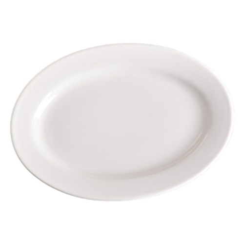 Oval Plate - $0.50