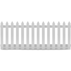Picket Fence 2.4m - $17.00