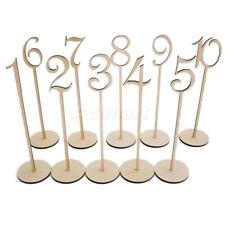 Wooden Numbers $5.00