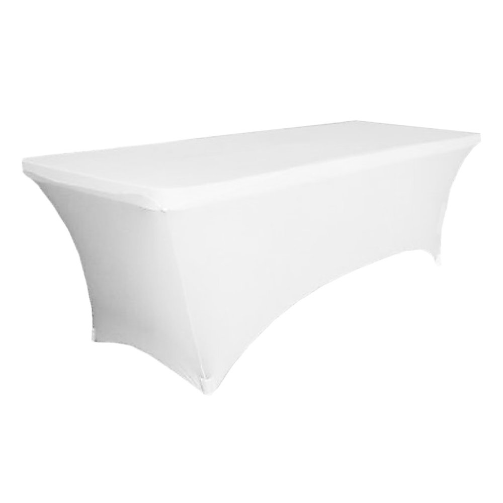 White Table Cover 1.8m - $25.00