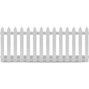 Picket Fence 2m - $15.00