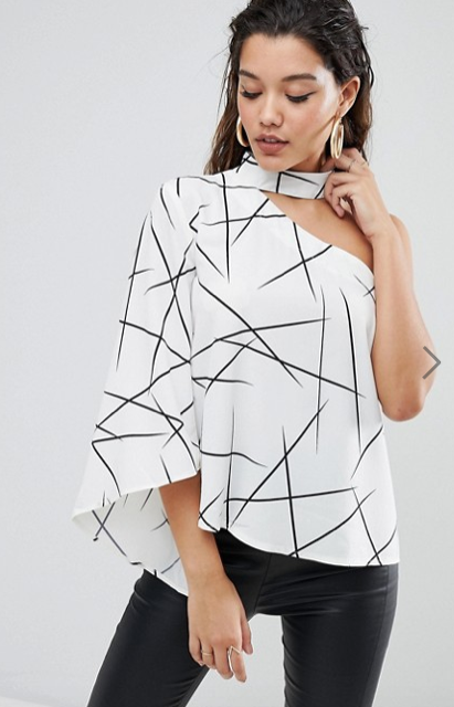 Parallel Lines Top from ASOS