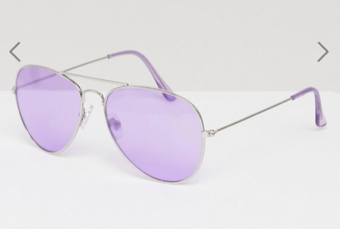 Lilac lens from ASOS