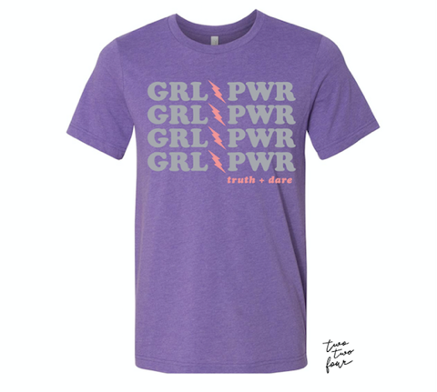 The GRL PWR Giveback Shirt you know you need...