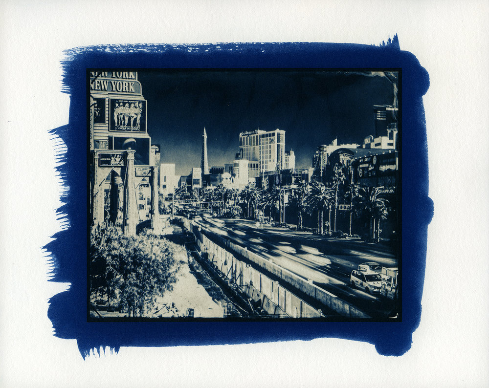 Palladium Over Cyanotype