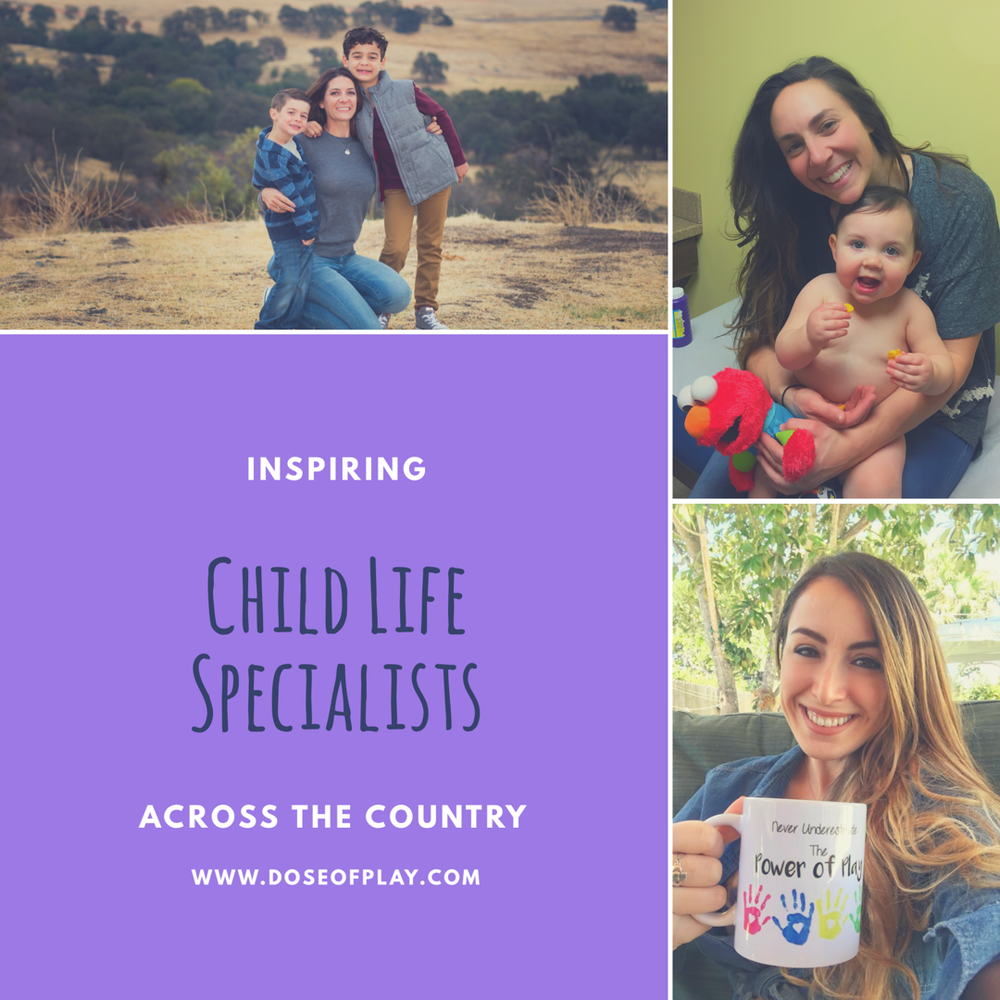 Inspiring Child Life Specialists Across the Country #childlife #childlifespecialists #pediatrics #kids #forthekids #preparingforsurgery #timeforacheckup #communitybasedchildlife #privatepractice #girlboss #childlifemonth #doseofplay
