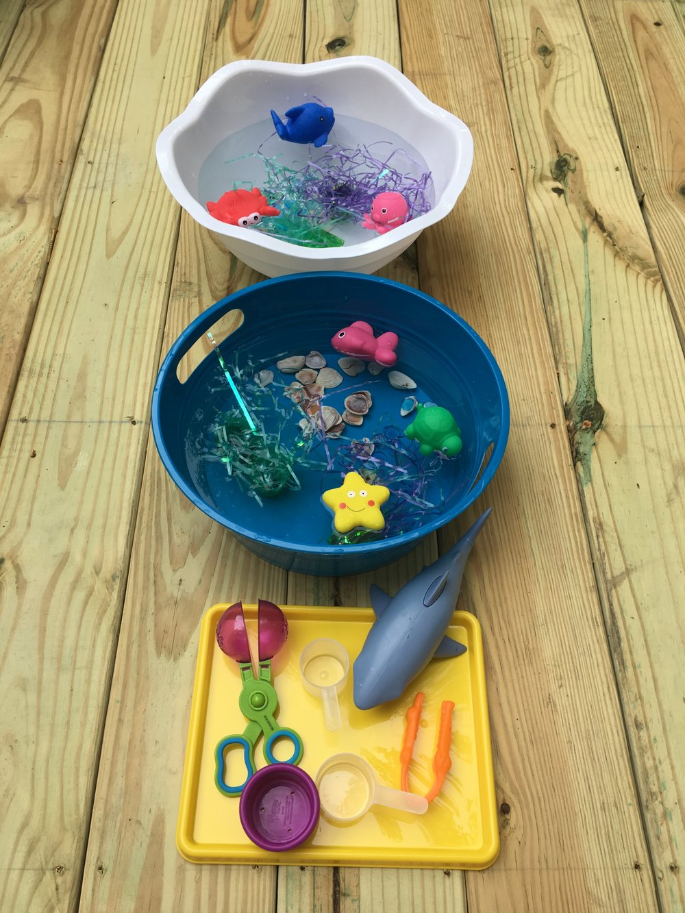 Ocean Sensory Play Materials