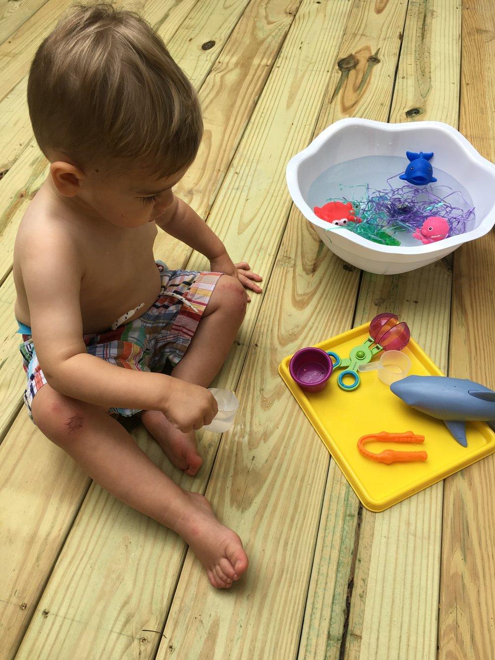 Water play fun