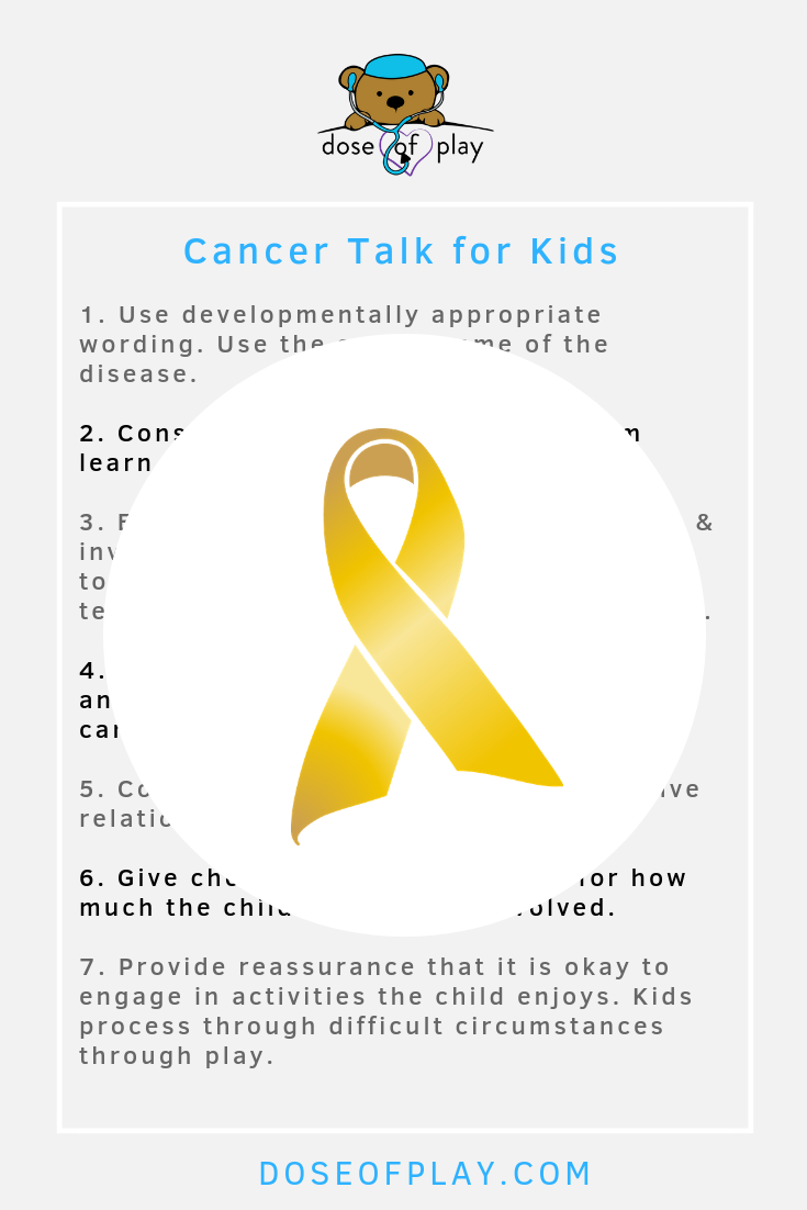 How to talk to your kids about cancer #cancertalkforkids #cancertalk #howtotalktoyourkidsaboutcancer #howtotalkaboutcancerwithkids #talkingaboutcancer #childlifespecialist #childlife #oncologysupport #cancerfamilysupport