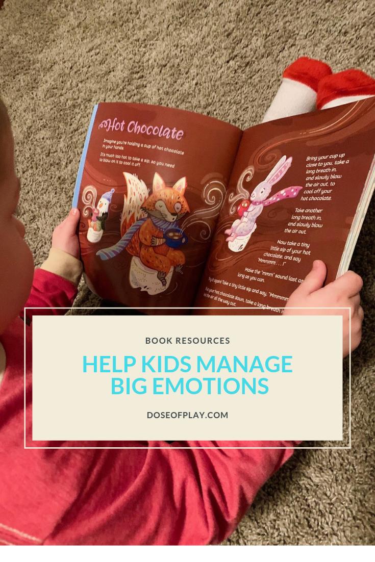 Helping kids manage big emotions #bookstohelpmanageemotions #howtohelptoddlersmanageemotions #toddlers #howtohelppreschoolersmanageemotions #books #booksforkids #managingemotions #childlife #childdevelopment #meltdowns #childlifespecialist