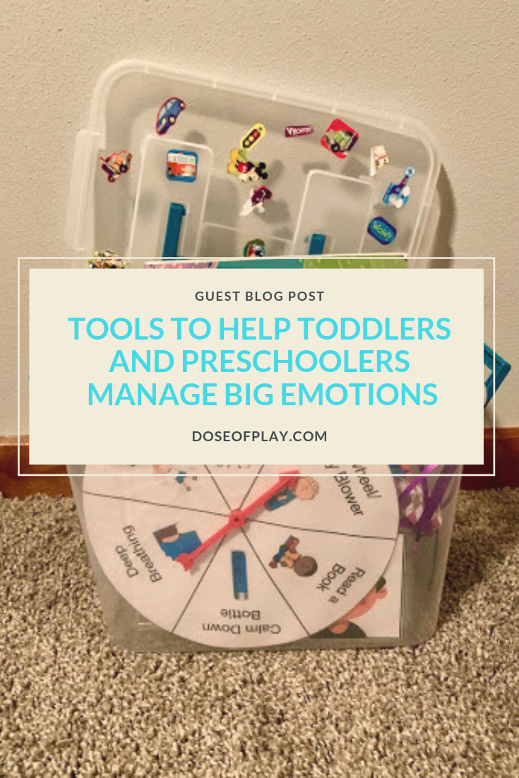Tools to help toddlers and preschoolers manage big emotions #copingtools #copingkit #toddlers #preschoolers #helptoddlerscope #helppreschoolerscope #meltdowns #parenting #coping #emotions #identifyingemotions #copingstrategies #childlife