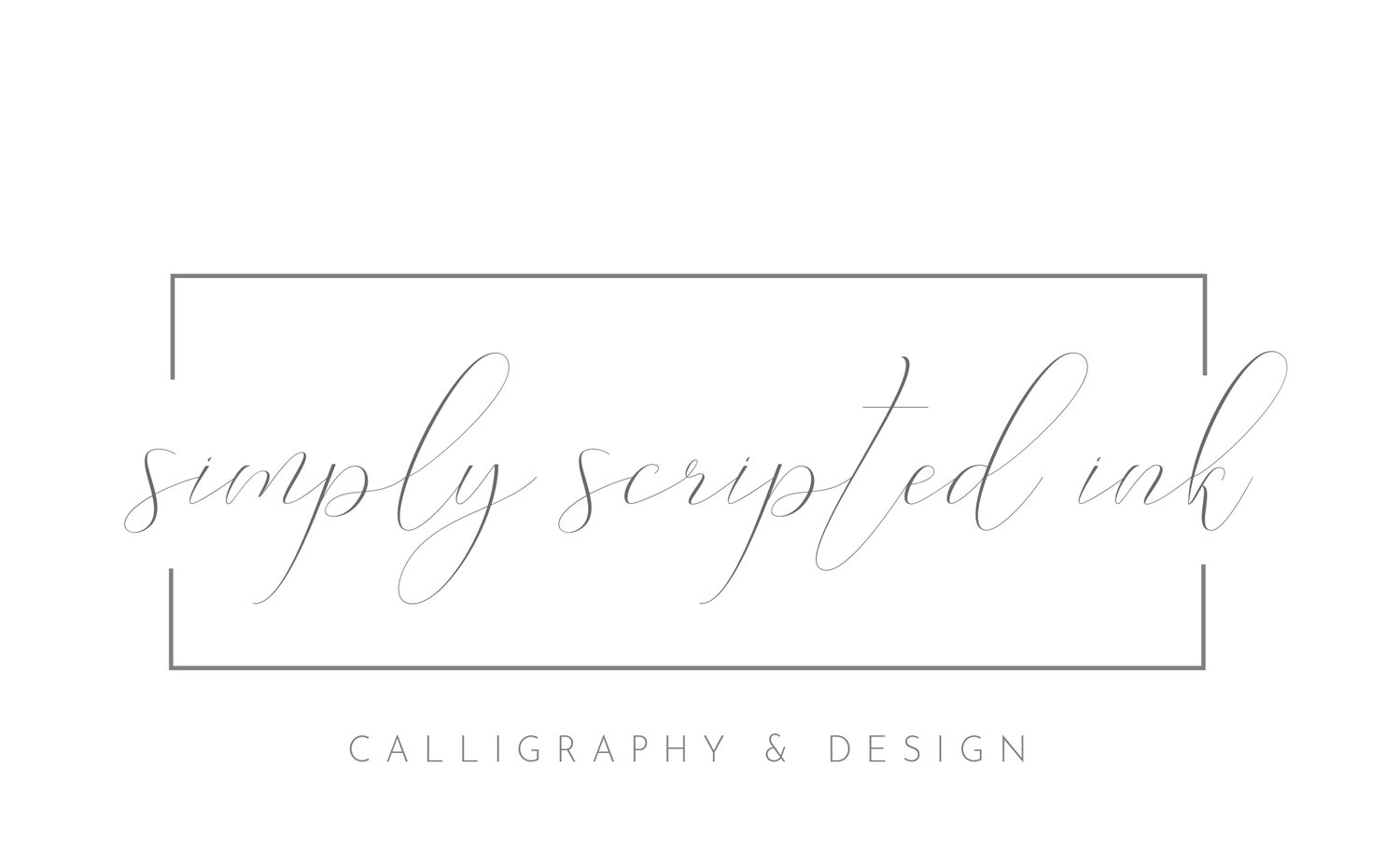 Simply Scripted Ink